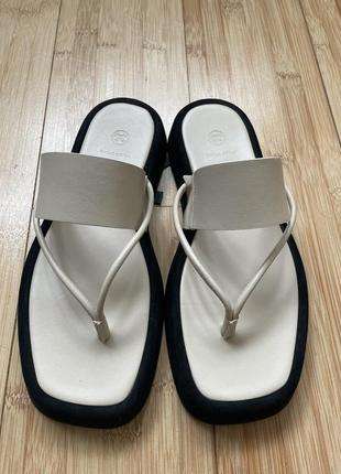 Шлёпки босоножки сандали оригинал massimo dutti