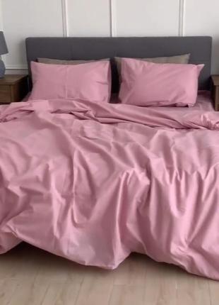 Комплект постельного белья дымчатая роза