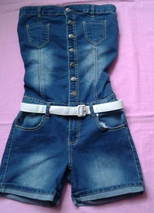 Джинсовые шорты  s