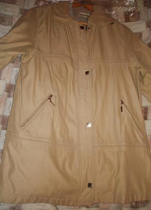 Куртка-плащ plist (женская классическая), размер 48-50.