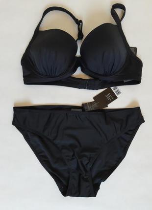 Купальник, бюстгалтер на косточка, плавки бикини бренд esmara, германия