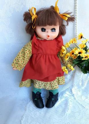 Mademoiselle gege кукла япония винтаж мягконабивная в одежде сосет палец