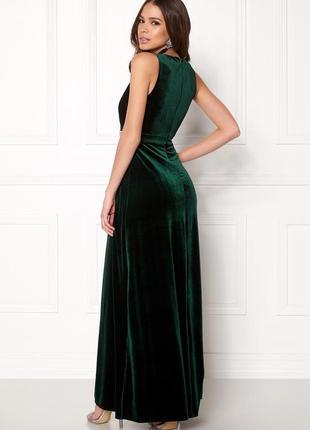 Красивое длинное платье из бархата от sisters point.2 фото