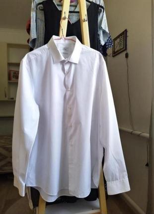 Белая рубашка свободная рубашка оверсайз женская рубашка блузка