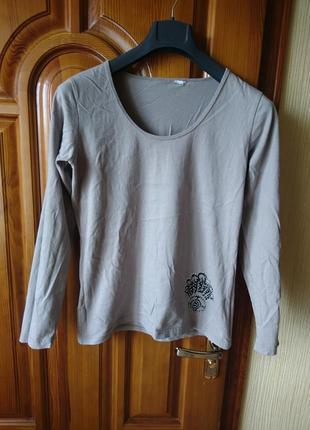 Трикотаж котон серый свитер по груди 98см