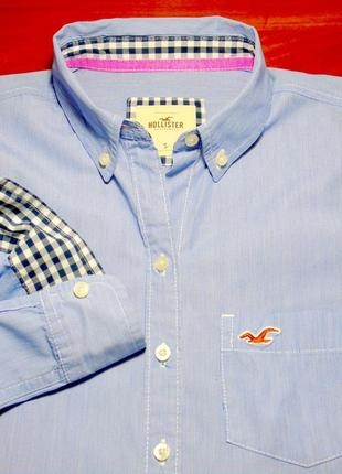 Hollister шикарная рубашка - m - s3 фото
