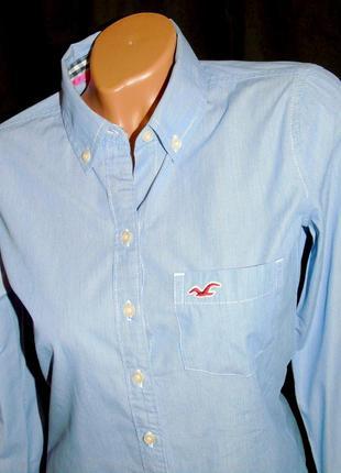 Hollister шикарная рубашка - m - s2 фото