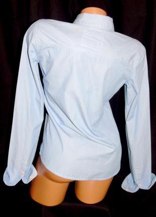 Hollister шикарная рубашка - m - s4 фото