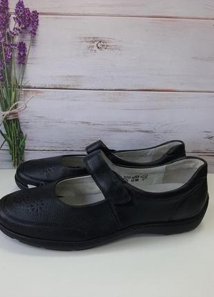 Туфли женские размер 8 1/2  42.5 кожа1 фото
