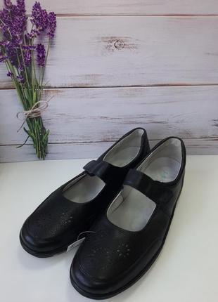 Туфли женские размер 8 1/2  42.5 кожа2 фото