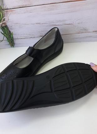 Туфли женские размер 8 1/2  42.5 кожа4 фото