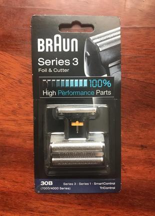 Блок + сетка braun series 3 30b (7000/4000 series) оригинал