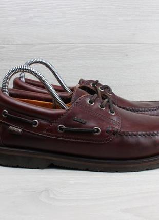 Кожаные туфли / мокасины / топ-сайдеры portside, размер 39 - 40