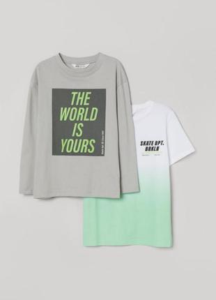H&m реглан футболка 170 14+