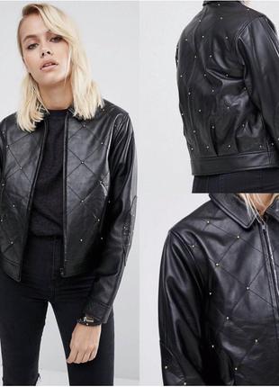 Кожаная куртка asos 100% leather 1900 грн. с полной предоплатой отдам за 1500!!!