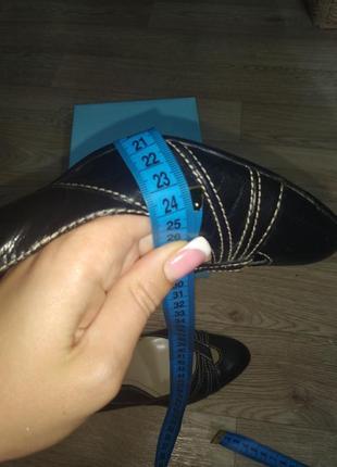 Туфли женские на шпильке острый носок переплетение фирменные 398 фото