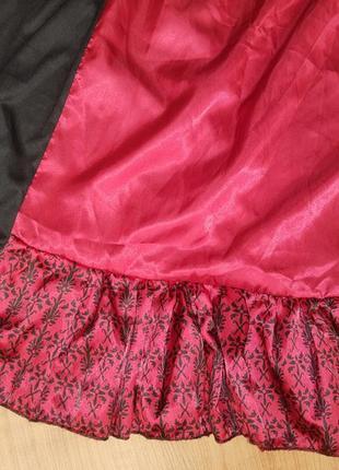 Карнавальный костюм платье средневековья герцогиня6 фото