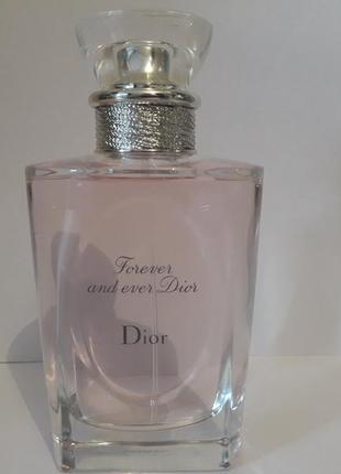 Dior forever & ever 100 ml туалетная вода  тестер
