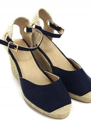 Босоножки женские на широкую полную ногу закрытый носок фирменные модные 39 40 гривень