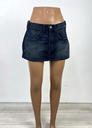 Юбка мини levis, джинсовая
