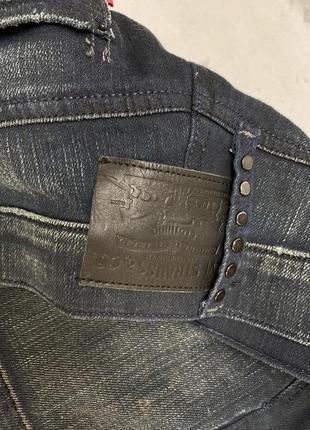 Юбка мини levis, джинсовая3 фото