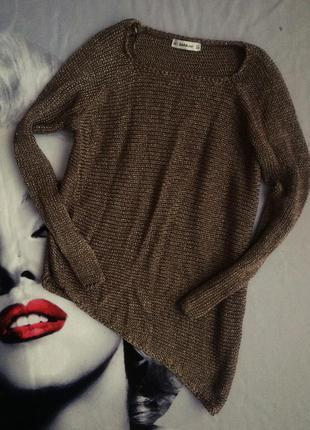 Ассиметричный свитер кольчуга