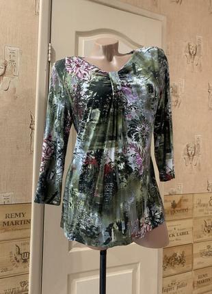 Блуза свободная