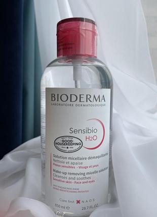Bioderma sensibio міцелярна вода