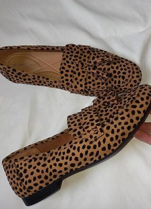 Туфли/ лоферы/ мокасины леопардовые.2 фото