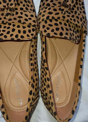 Туфли/ лоферы/ мокасины леопардовые.6 фото
