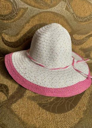 Шляпка женская 🌈🌸☀️☀️💝💐рисовая соломка
