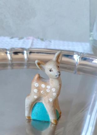 Раритетна статуетка оленятка