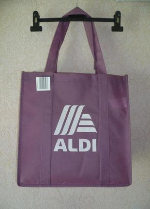 Сумка женская для покупок, пляжная сумка, торба, спанбонд, еко сумка aldi