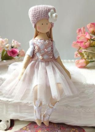 Кукла балерина ручной работы. высота 25 см
