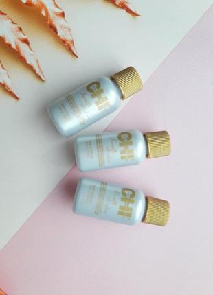Восстанавливающий комплекс для волос с шелком chi - keratin silk шёлк, масло с кератином