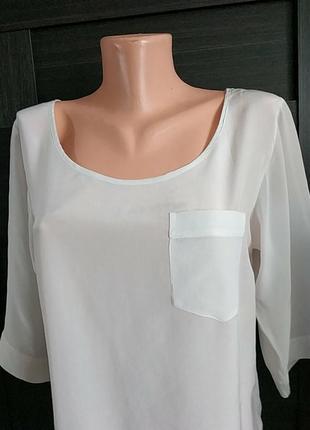 Брендовая шелковая блуза блузка туника.