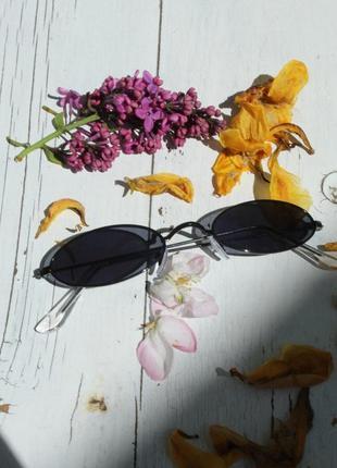 Солнечные очки, овальные очки, имиджевые очки, круглые очки