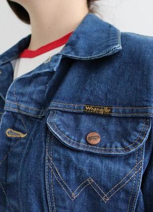 Вінтажна джинсовка oversize wrangler