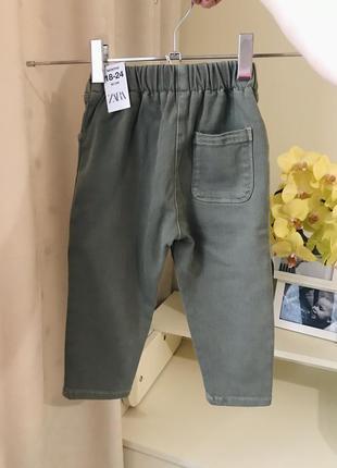 Стильні штани джинси zara3 фото