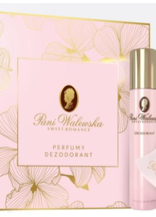 Набор духи и дезодорант -pani walewska sweet romance 🌷