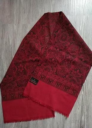Брендовый кашемировый шарф кашне.