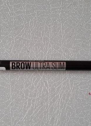 Карандаш для бровей brow ultra slim maybelline