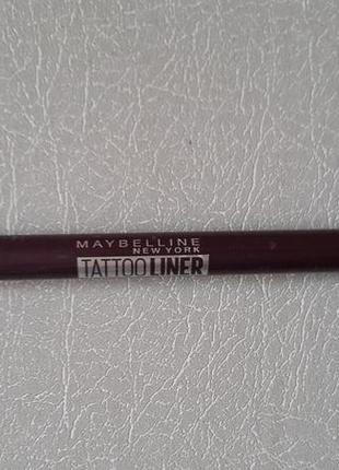 Карандаш для глаз tatto liner maybelline