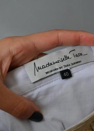 Элегантная золотистая юбка tara jarmon франция7 фото