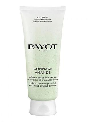 Payot gommage amande body