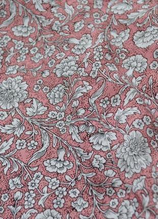 Красивая расклешенная юбка в цветочный принт zebra3 фото