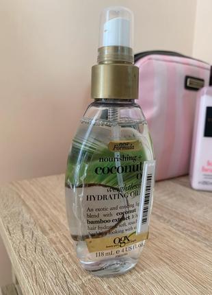 Кокосова олія-спрей для волосся
