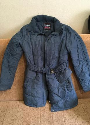 Добротная курточка тёплая бесплатно