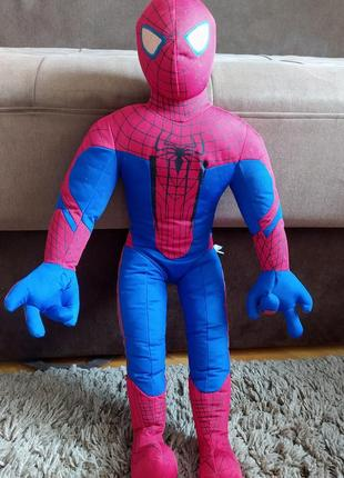 Игрушка іграшка мягкая спайдермен супермен марвел человек паук спайдермэн бетмен