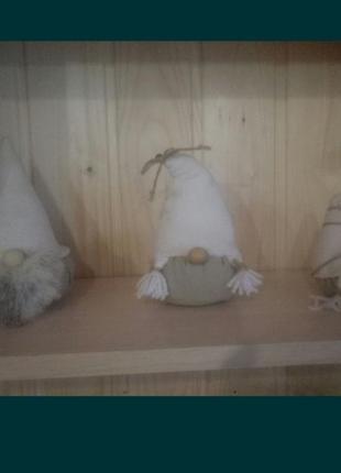Лот норвежские гномы гном ручная работа набор лот
